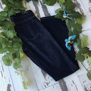 Citizens of humanity mid rise straight leg jeans
